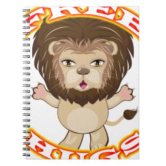Lion Free Hugs Notebooks