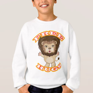Lion Free Hugs Sweatshirt