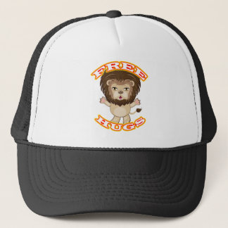 Lion Free Hugs Trucker Hat