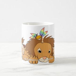 Lion friends coffee mug