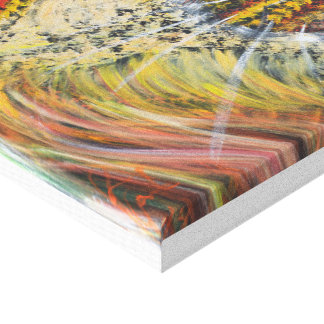 Lion Gazing Gallery Wrap Canvas Print