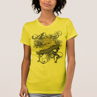 Lion Girl's Baby Doll on Yellow T-Shirt
