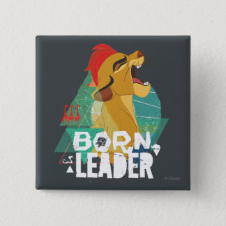 Lion Guard | Born Leader Kion 15 Cm Square Badge