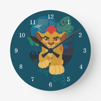 Lion Guard | Kion Safari Graphic Round Clock