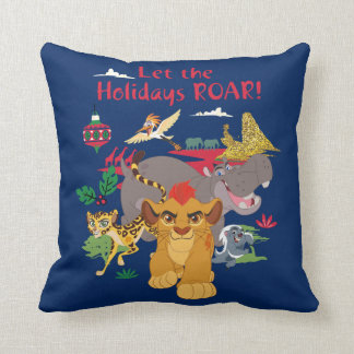 Lion Guard | Let The Holidays Roar Cushion