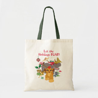 Lion Guard | Let The Holidays Roar Tote Bag