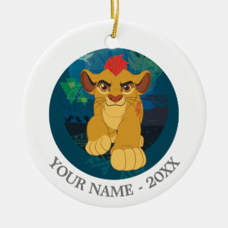 Lion Guard | Simba Add Your Name Ceramic Ornament