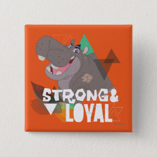 Lion Guard | Strong & Loyal Beshte 15 Cm Square Badge
