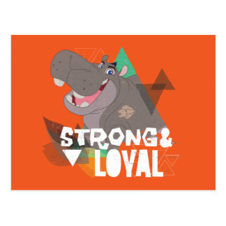 Lion Guard | Strong & Loyal Beshte Postcard