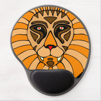 Lion Head #1 Gel Mouse Pad