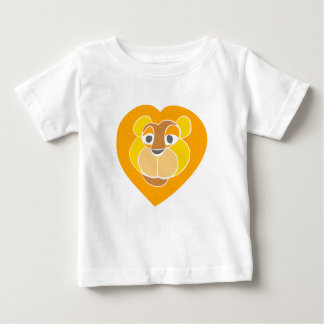 Lion Head Baby Fine Jersey T-Shirt