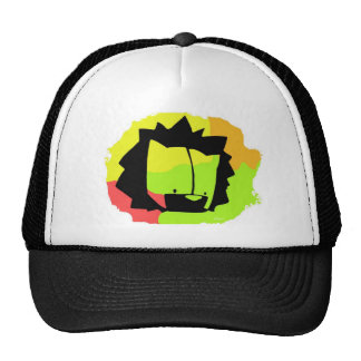 lion head cap