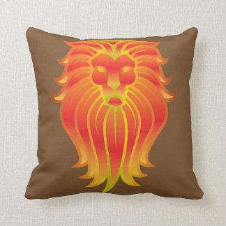Lion Head Cushion