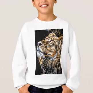 Lion Head Glowing Fractalius Sweatshirt