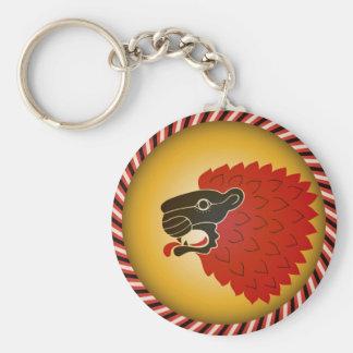 Lion head key chain