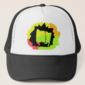lion head trucker hat