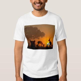 Lion Hunt Tee Shirt