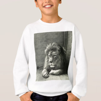 Lion Illustration Sweatshirt