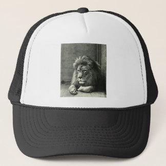 Lion Illustration Trucker Hat