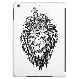 Lion in crown