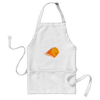 Lion in Flames Standard Apron