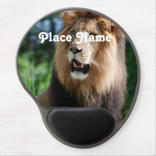 Lion in Liberia Gel Mousepad