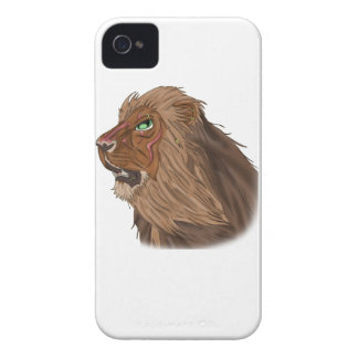 Lion in the Wind Case-Mate iPhone 4 Case