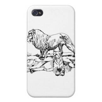 Lion iPhone 4 Covers