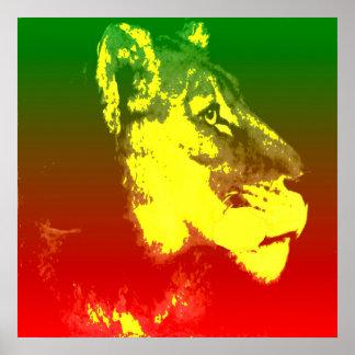 LION JAH POSTER