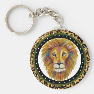 Lion Key Chain