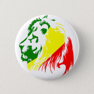 LION KING 6 CM ROUND BADGE