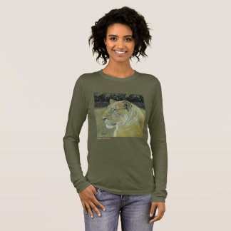 Lion King and Queen Long Sleeve Women's T-Shirt