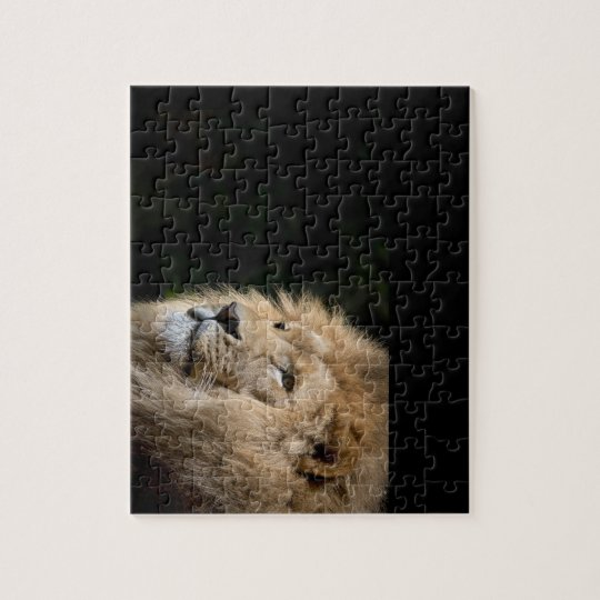 Lion  king of jungle jigsaw puzzle