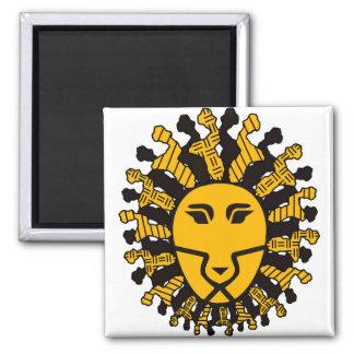 Lion King of Malawi Fridge Magnet