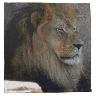 Lion - King of the Beast Napkin