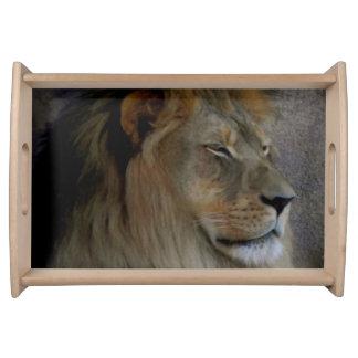 Lion - King of the Beast Serving Platter
