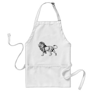 Lion - King of the Jungle Adult Apron
