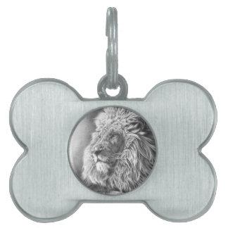 Lion King Pet Name Tag