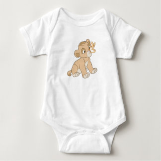 Lion King Simba cub butterfly on nose Disney Baby Bodysuit