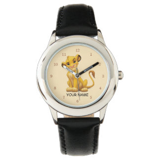 Lion King | Simba on Triangle Pattern Watch