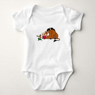 Lion King's Timon And Pumbaa Disney Baby Bodysuit