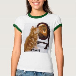 LION-KITTEN, rawr! T-Shirt