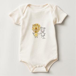 Lion & Lamb Baby Bodysuit