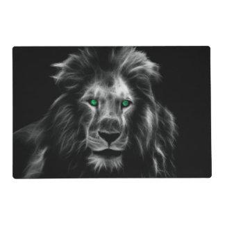 Lion Laminated Placemat