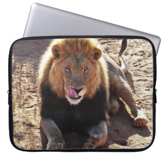 Lion laptop sleeve