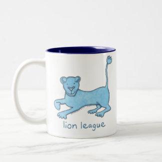 Lion League Two-Tone Coffee Mug