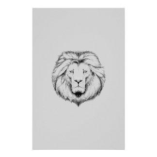 Lion letter PAPER Stationery Design