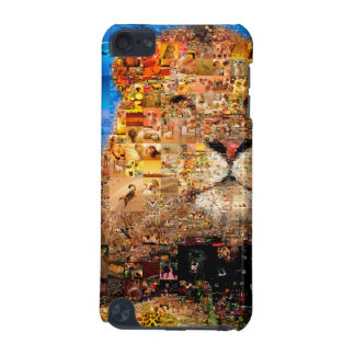 lion - lion collage - lion mosaic - lion wild iPod touch 5G covers