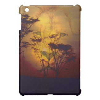 Lion Looking Over African Sunset Cover For The iPad Mini