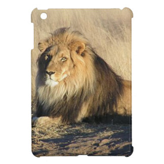 Lion lounging in Nambia iPad Mini Covers